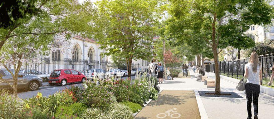 Nice ville verte de la Méditerranée