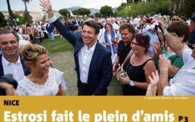 Festin Nissart – Nice Matin : « Estrosi fait le plein d'amis »