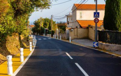 La réfection de la voirie se concrétise dans les quartiers de Nice