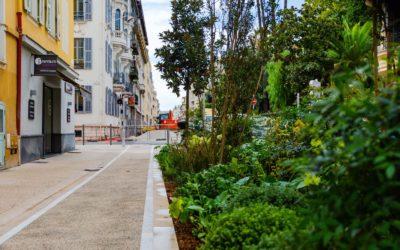 Trame verte : la verdure au cœur de Nice