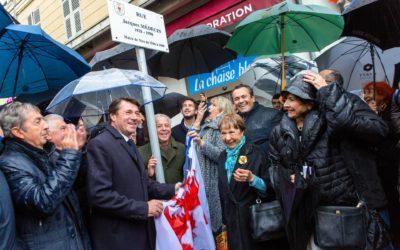 Nice a enfin sa rue Jacques Médecin