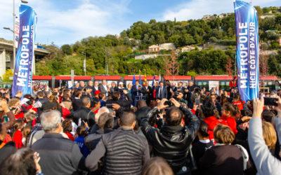 La Ligne 3 de tramway est arrivée à Saint-Isidore !