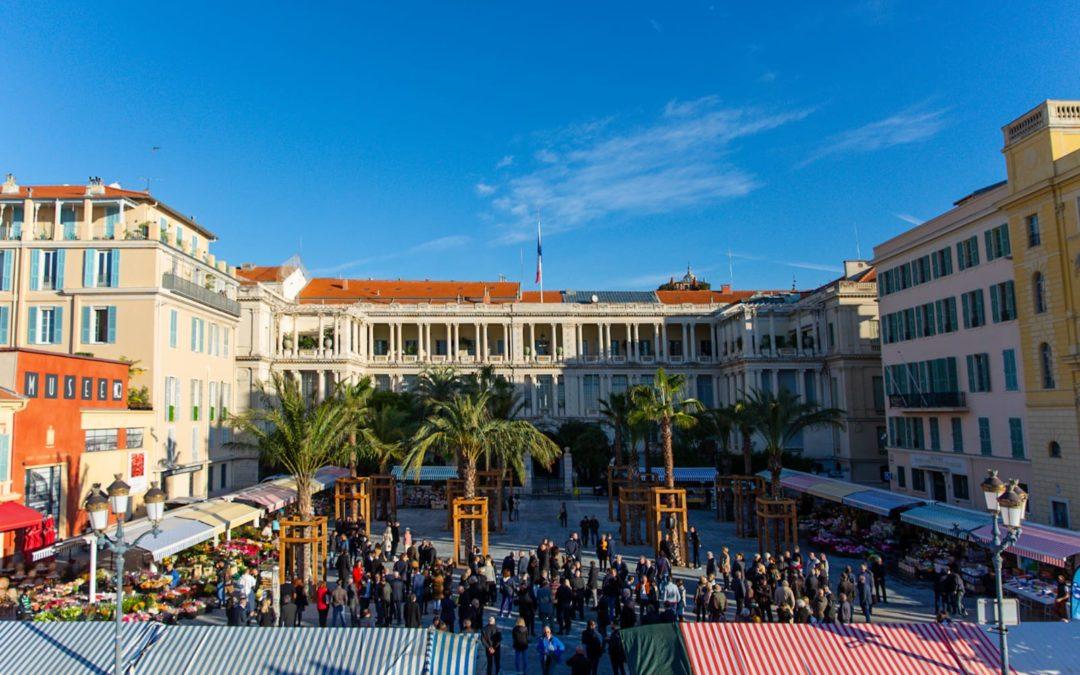 La Place Pierre Gautier rénovée offre un nouveau visage au Cours Saleya