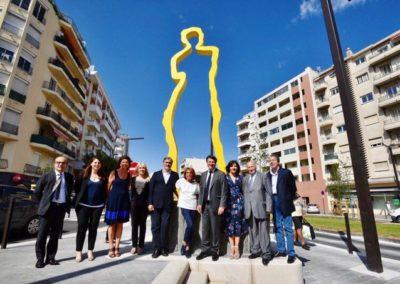 Art et Tram - Station Carras - « Hommage à Vénus » de Sacha Sosno
