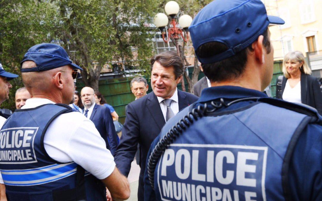La police municipale de Nice, première de France