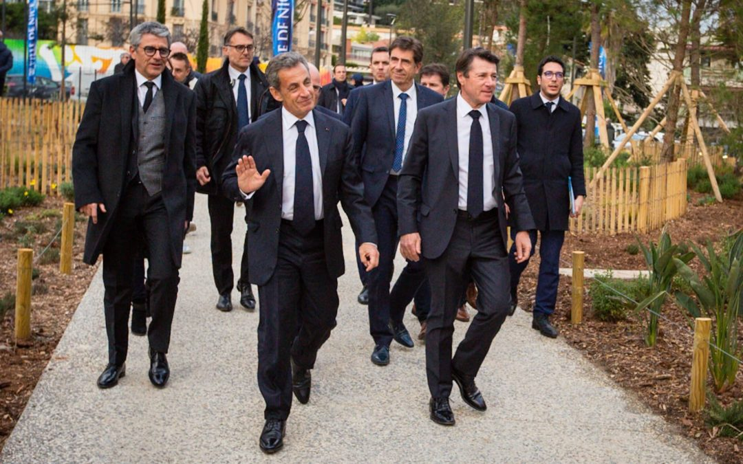 Inauguration du Parc du Ray avec Nicolas Sarkozy